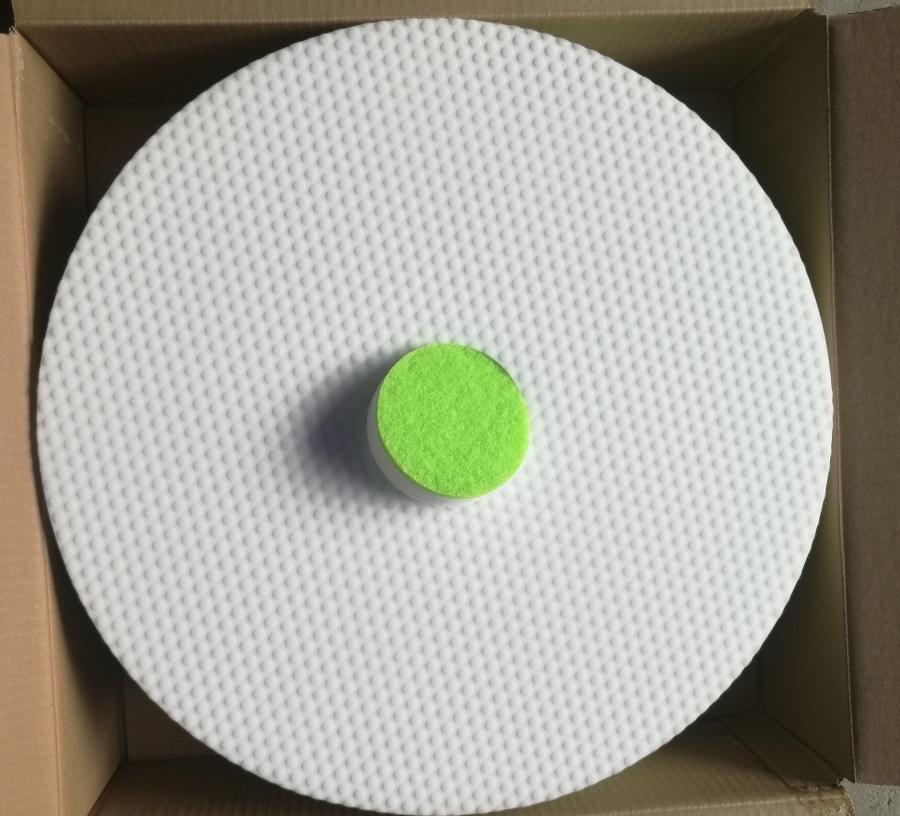 high density melamine sponge sanding pad 1