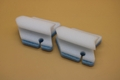 scouring pad with holder