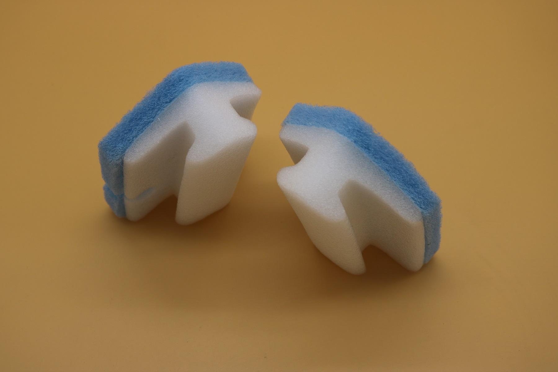 scouring pad with holder 3