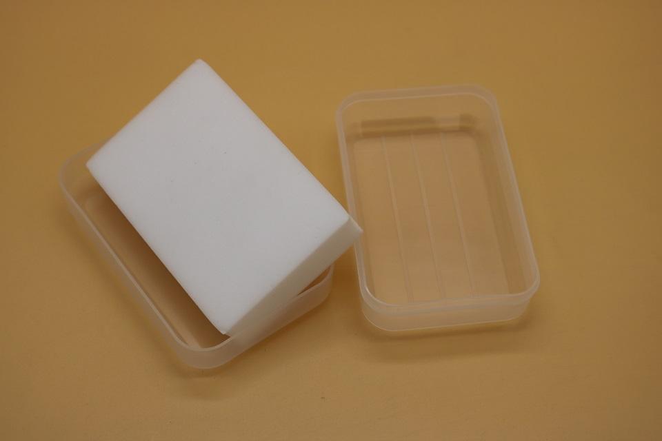 melamine sponge with soap box 1