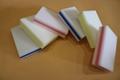 rainbow sandwich eraser sponge
