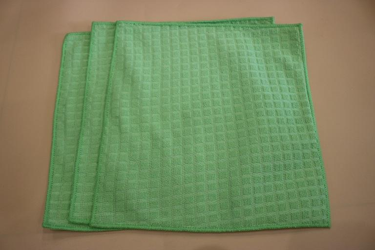 microfiber cloth with PP net cloth 1