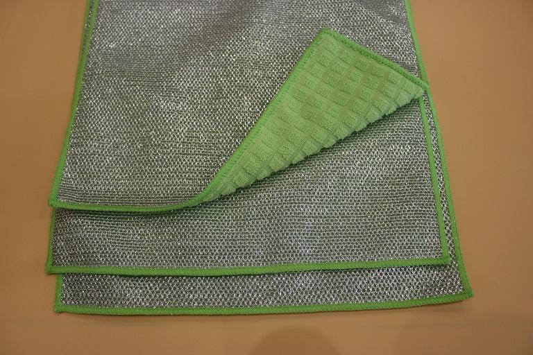 microfiber cloth with PP net cloth 2