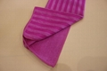 microfiber dish towel  with PP net cloth