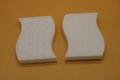 compressed magic eraser sponge