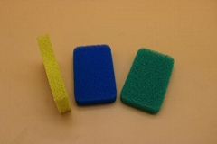 colorful vegetable cleaning silicone sponge
