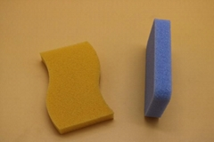 kitchen cleaning silicone sponge
