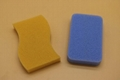 kitchen cleaning silicone sponge  2