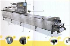 自动拉伸成型真空包装机