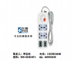 插座电源防雷器