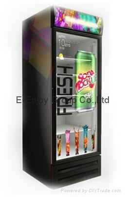 32inch to 65inch TFT Type Transparent refrigerator door as promoting product adv 2