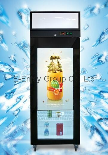 32inch to 65inch TFT Type Transparent refrigerator door as promoting product adv 4
