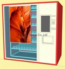 Smart Vending Machine w/ 55inch Clear Touch Screen