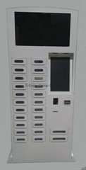 Multi-function Mobile Phone Charge Station Kiosk Payment Information Kiosk