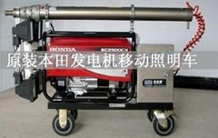 專業生產車載應急照明監控昇降杆設備