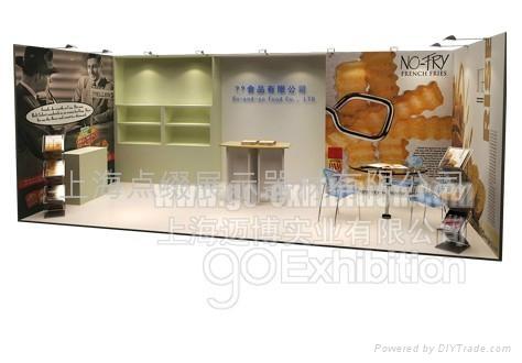 上海積木展會便攜展架可移動展台 3
