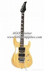 """AG39-IB3 39"""" Electric Guitar - Ibanez Copy with Handle Solidwood color"""