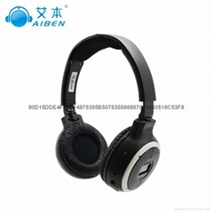 旋轉式調頻英語聽力耳機