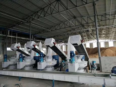 XGJ560第六代离心卧式制粒机木屑颗粒机价格 3