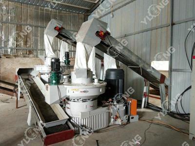 Wood fuel pellet machine 3