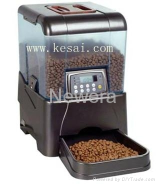 2014 hot sale pet products automatic fish feeder kff 03 for Diy automatic fish feeder