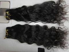 Wholesale factory price Indian curly hair in virgin remy hair bundle