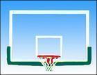 钢化玻璃篮球板
