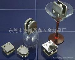 不鏽鋼玻璃門夾-東莞不鏽鋼精密鑄造加工
