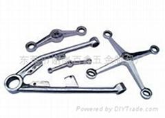 不锈钢驳接爪硅溶胶精密铸造件