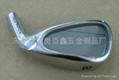 不锈钢熔模铸造高尔夫球头 1