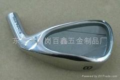 不锈钢熔模铸造高尔夫球头