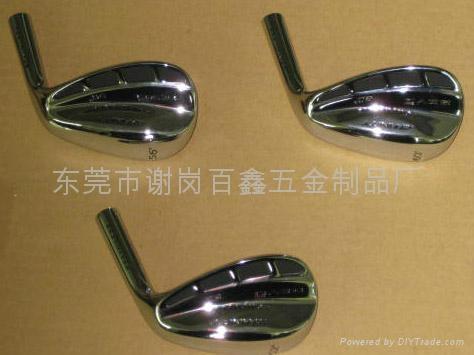 不锈钢熔模铸造高尔夫球头 2