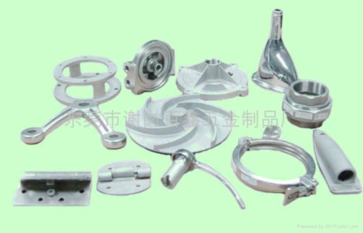 SUS316不锈钢精密铸造加工件 2