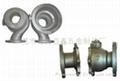 不锈钢阀门熔模铸造件-深圳硅溶