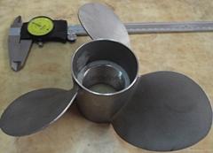 游艇17-4不锈钢螺旋桨-广州不锈钢精密铸造件