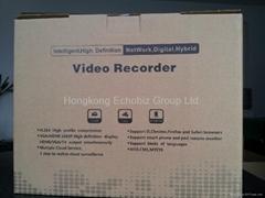 8ch D1+16ch CIF record, 8ch D1+8ch CIF decode ,standalone DVR