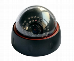 CMOS IR Dome IP Camera Support IR-CUT