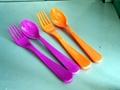 melamine tableware dish dinnerware bowl plate cup spoon fork 2