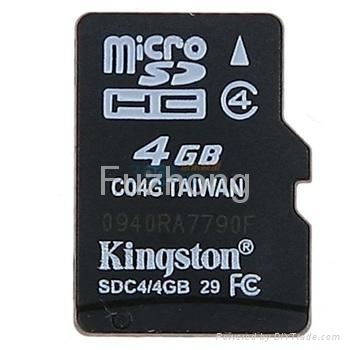 Micro SD card 4GB 1