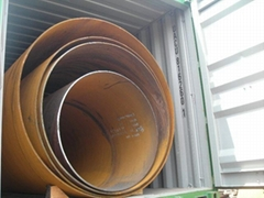 3PP coating SSAW spiral steel pipe