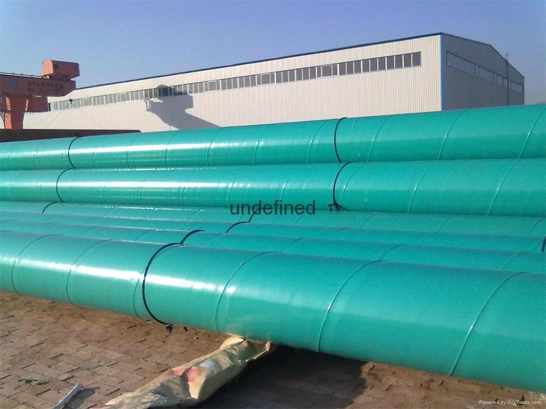 ST44 SSAW HFW steel pipe 4