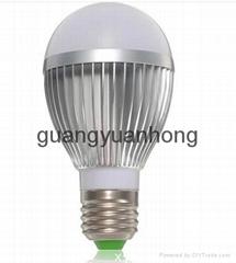 5 w led car aluminum ball steep light