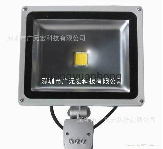 10 w led human body induction floodlight 2