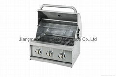 BUILT IN  GAS BBQ GRILL