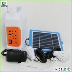 high quality portable solar power system with fm radio