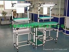 线棒精益生产仓储货架