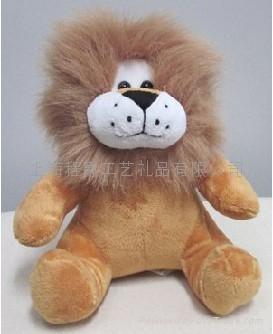 狮子毛绒玩具 1