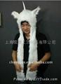 毛絨動物帽子