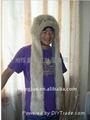 毛绒动物帽子 2