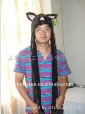 毛绒动物帽子 3